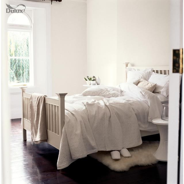 Dulux Matt Emulsion Paint White Cotton 2.5L from Ocado