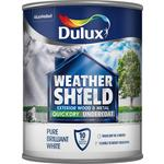 Dulux Weathershield Quick Drying Undercoat Pure Brilliant White