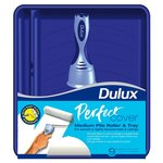 "Dulux Perfect Cover 9"" Medium Pile Paint Roller Tray Set"