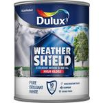 Dulux Weathershield Exterior Gloss Pure Brilliant White