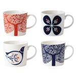 Royal Doulton Fable Accent Porcelain Mixed Mugs