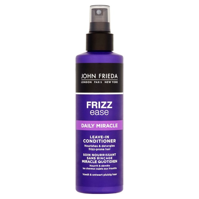 john frieda frizz ease daily miracle treatment 200ml from. Black Bedroom Furniture Sets. Home Design Ideas