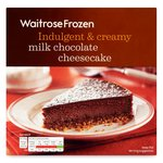 Waitrose Milk Chocolate Cheesecake Frozen