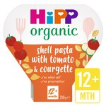 HiPP Organic Shell Pasta with Juicy Tomatoes & Courgettes