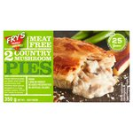 Fry's Country Mushroom Pies Frozen