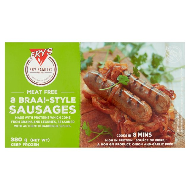 Fry's Braai Country Herb Sausages Frozen