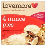 Lovemore Gluten Free Luxury Mince Pies