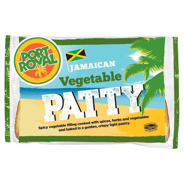 Port Royal Jamaican Vegetable Patties from Ocado