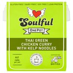 Soulful Thai Green Chicken Curry with Kelp Noodles