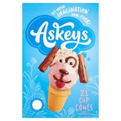Askeys Ice Cream Cup Cones