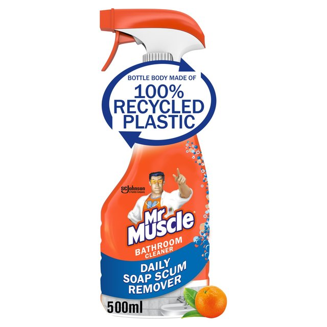 Mr muscle bathroom toilet cleaner 5 in 1 500ml from ocado for Mr muscle bathroom and toilet cleaner