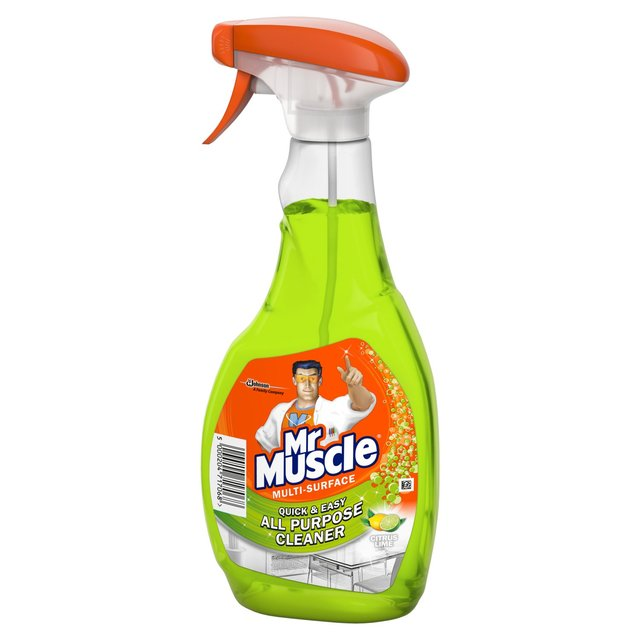 Mr muscle bathroom cleaner - Mr Muscle All Purpose Cleaner Citrus Lime 500ml From Ocado