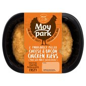 Moy Park 2 Cheese & Bacon Chicken Kievs