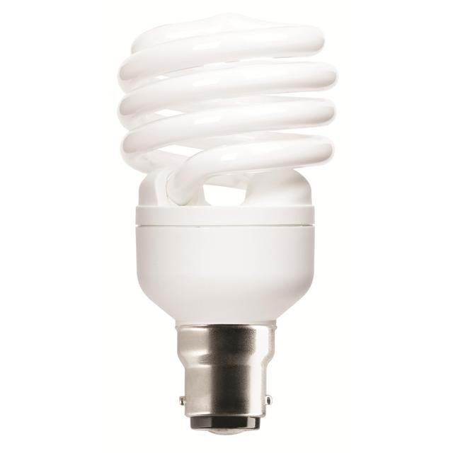 Energy Saving Spiral Light Bulb B22 BC 23W