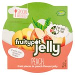 Fruity Pot Jelly Peach in Peach Flavour Jelly