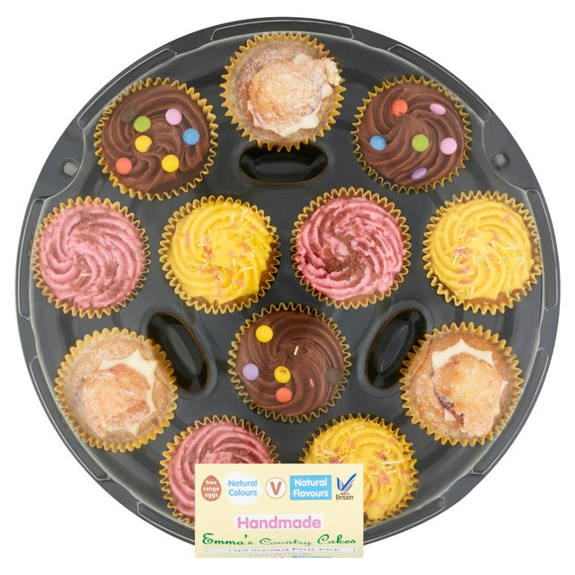 Emmas Seasonal Party Platter Cupcakes Ocado
