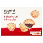 Essential Waitrose Shortcrust Mince Pies