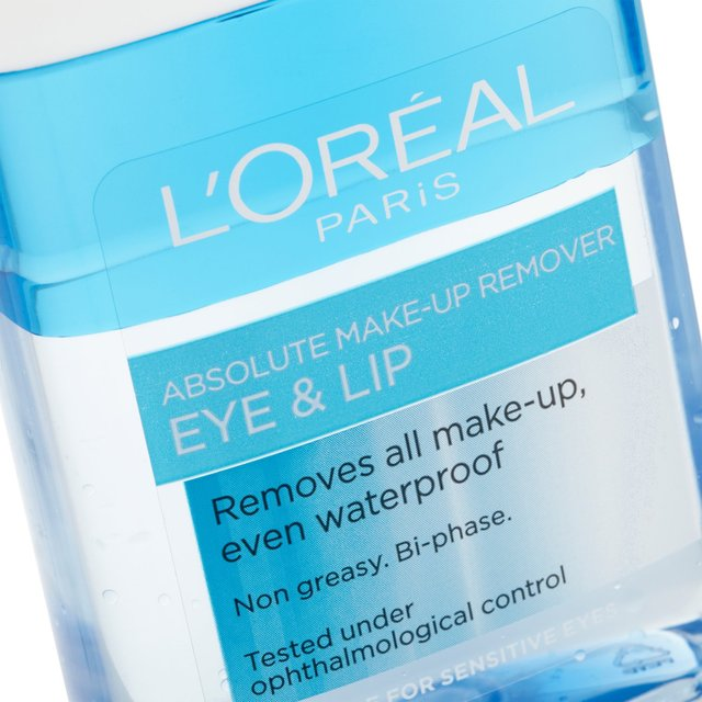 ... L'Oreal Absolute Eye & Lip Makeup Remover ...