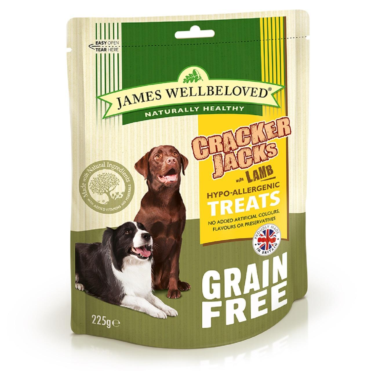 An image of James Wellbeloved Grain Free Lamb Crackerjacks