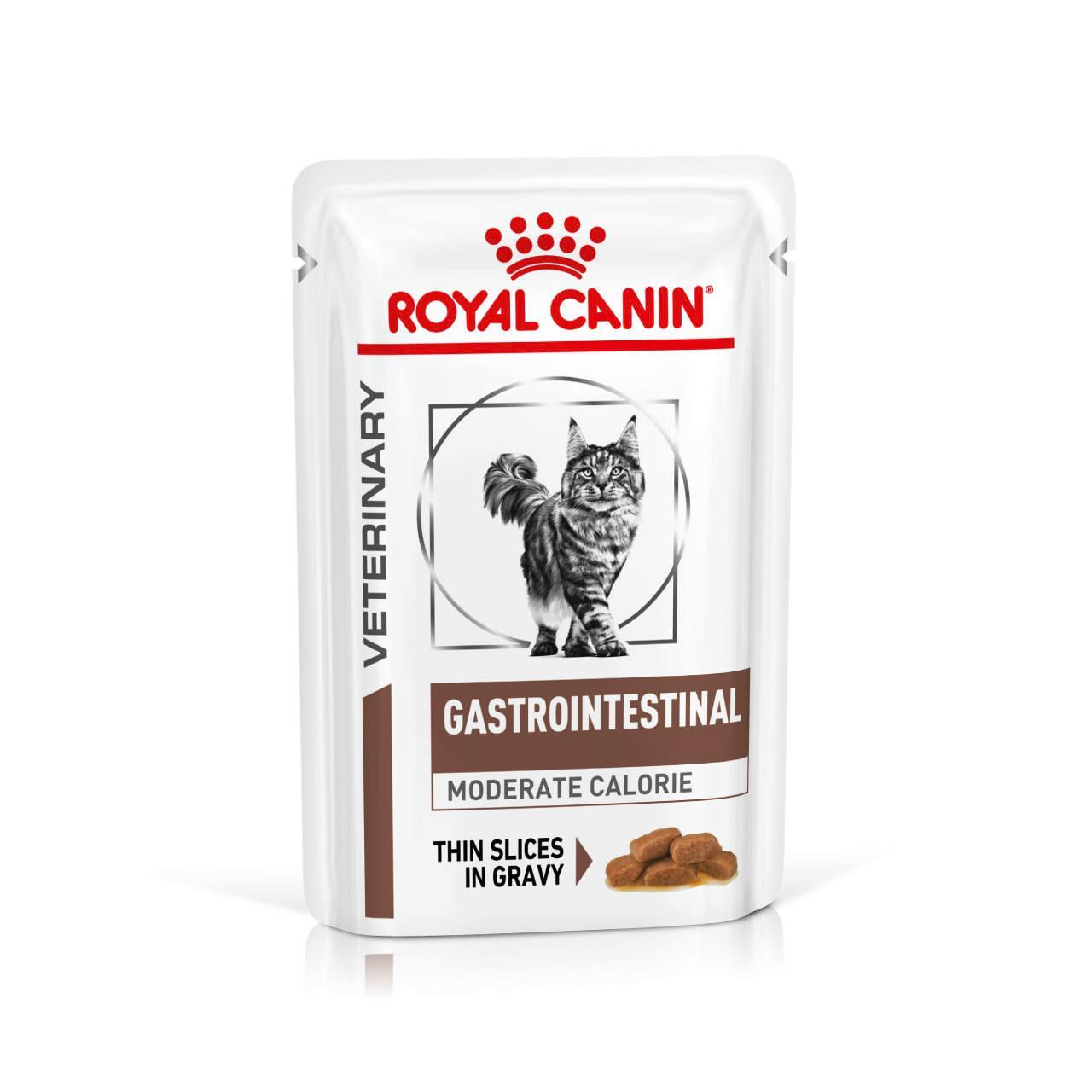 An image of Royal Canin Feline Veterinary Diet Gastro Intestinal Moderate Calorie