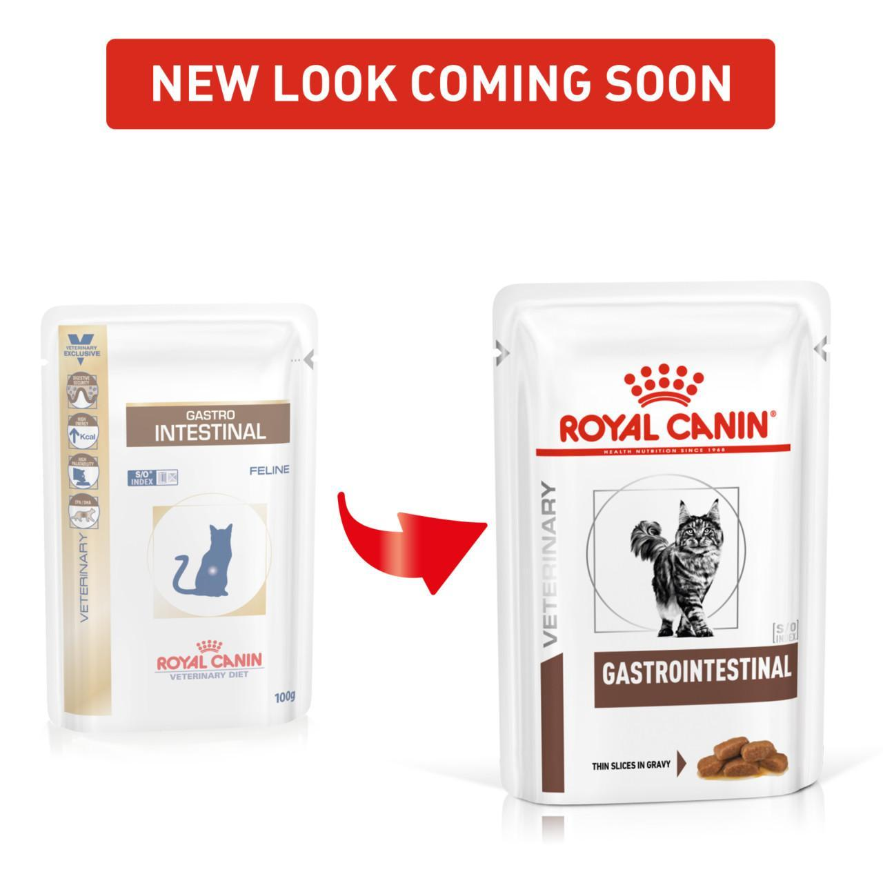 An image of Royal Canin Veterinary Diet Gastro Intestinal Feline