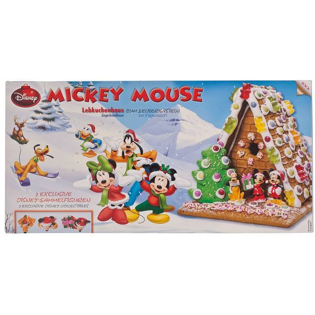 New On The Shelves Disney Mickey Mouse Gingerbread